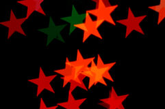 Stars pattern abstract blur Royalty Free Stock Image