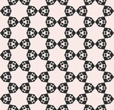 Stars pattern, abstract geometric floral mosaic texture Royalty Free Stock Images