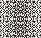 Stars pattern, ornament texture in oriental style. Stock Photos