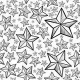 Stars pattern Royalty Free Stock Photography