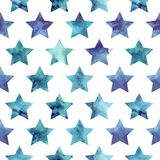 Stars pattern Stock Image
