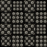 Stars Pattern Squares Motif Background Royalty Free Stock Images