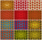 Stars patterns. Stock Images