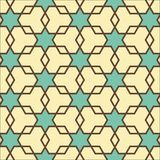 Stars and polygons Geometrical Pattern Stock Photos