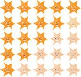 Stars ranking royalty free illustration