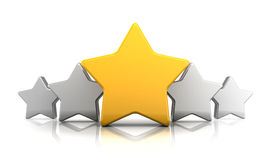 Stars rating Stock Photography