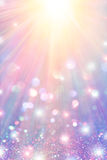 Stars and Rays Sparkle royalty free stock photo