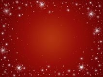 Stars in red Royalty Free Stock Photography