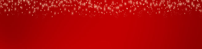 Stars on red background. (Illustration Royalty Free Stock Photos