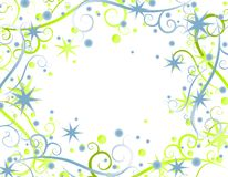 Stars Ribbons Christmas Background Royalty Free Stock Images