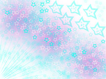 Stars rising  background blur effects. Lightning rising stars   background texture pink red white Stock Image