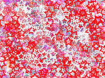 Stars rising  background blur effects. Lightning rising stars   background texture pink red white Royalty Free Stock Photo