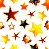 Stars seamless background royalty free illustration