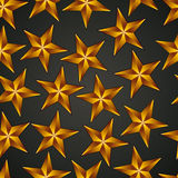 Stars seamless background. Royalty Free Stock Photo