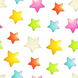 Stars seamless background Royalty Free Stock Image