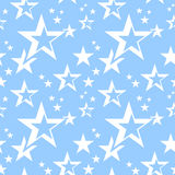 Stars seamless pattern. Stock Photos