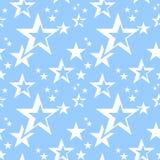 Stars seamless pattern. Stock Photos