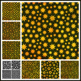 Stars. Seamless pattern. Stock Image