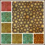 Stars. Seamless pattern. Stock Photos