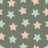 Stars seamless pattern Stock Photography