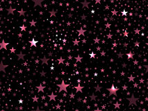 Stars seamless pattern. Magic star pattern. Outer space. Vector Royalty Free Stock Photography