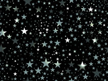 Stars seamless pattern. Magic star pattern. Outer space. Vector Stock Photo