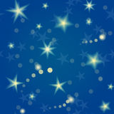 Stars seamless pattern Royalty Free Stock Photo