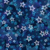 Stars seamless pattern Stock Image
