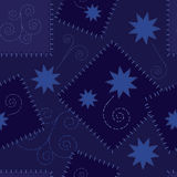 Stars Seamless Repeat Pattern Illustration Stock Photo