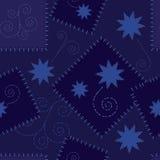 Stars Seamless Repeat Pattern Illustration Stock Photo