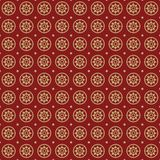 Stars seamless retro pattern. Royalty Free Stock Photos