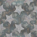 Stars. Seamless stone pattern Royalty Free Stock Photos