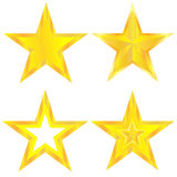 Stars set Stock Image