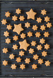 Stars shaped cookies Stock Photography