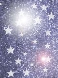 Stars shine background Royalty Free Stock Photos