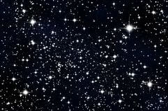Stars in the sky Royalty Free Stock Image