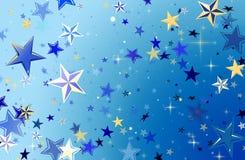 Stars in the sky Stock Photo