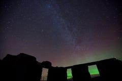 Stars in the sky Stock Image