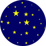 Stars in the sky Royalty Free Stock Images