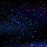 Stars sky background. Stock Photos