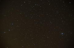 Stars in sky. A lot of stars in sky at night Stock Photo