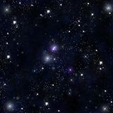 Stars in the space Royalty Free Stock Photography