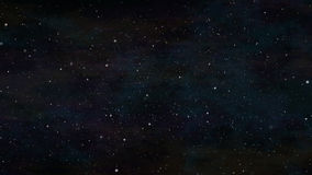 Stars in space background Stock Photography