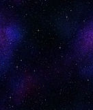 Stars in space or night sky Royalty Free Stock Photos
