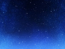 Stars in space or night sky Stock Image