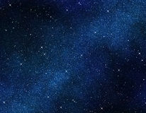 Stars in space or night sky Stock Photography