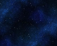 Stars in space or night sky Royalty Free Stock Photo