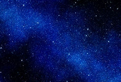 Stars in space or night sky Royalty Free Stock Image