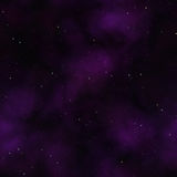 Stars in space pink. Stars in space - seamless render Royalty Free Stock Photo