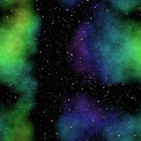 Stars space scenery Royalty Free Stock Images